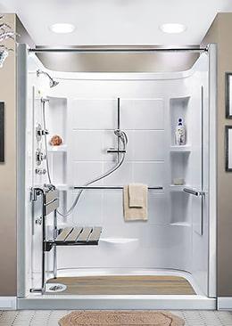 Aménagement de douche Séniors pour personne agée - Aube et Troyes
