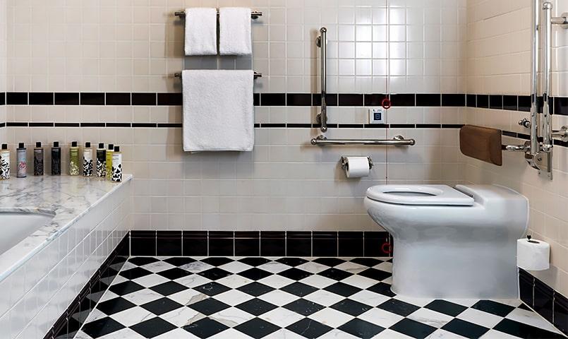 Aménagement de toilettes Séniors pour personnes agées - Troyes et Aube